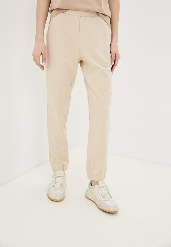 женские спортивные брюки love republic, бежевые