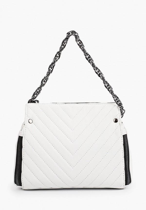 женская сумка через плечо mironpan, белая