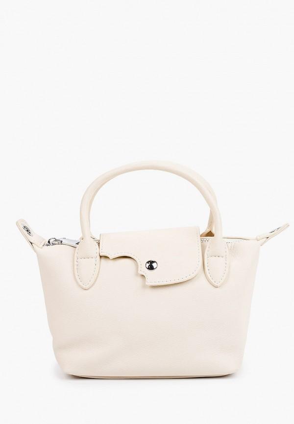 женская сумка с ручками mironpan, белая