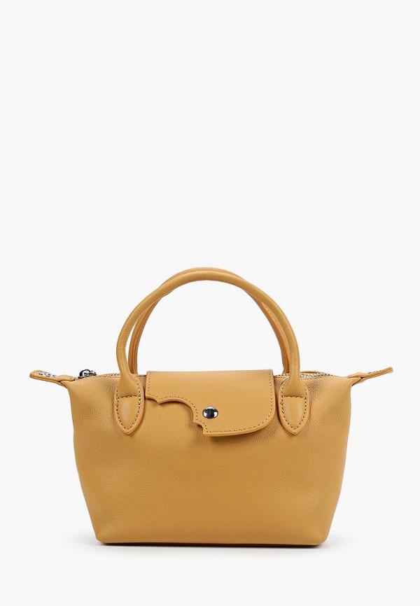 женская сумка с ручками mironpan, желтая