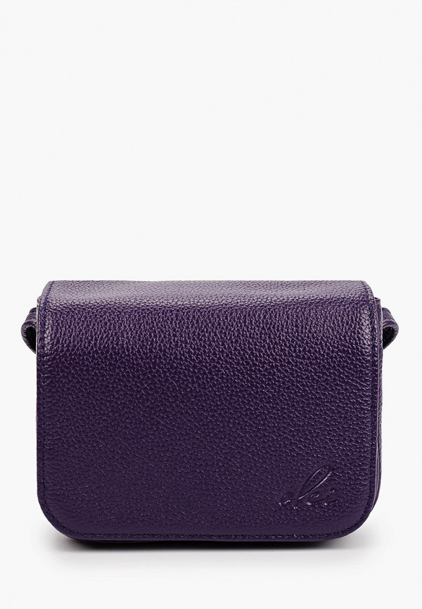 женская сумка через плечо olci, фиолетовая