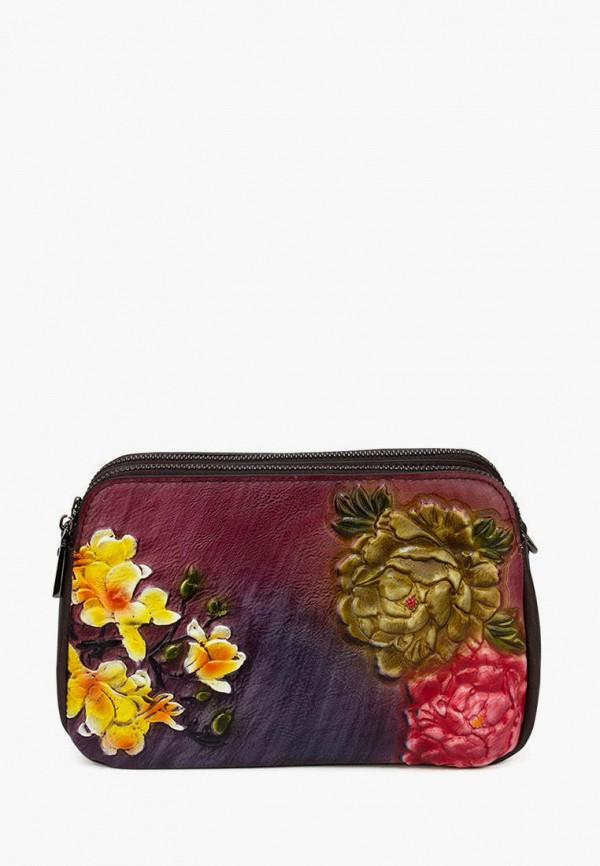 женская сумка через плечо laccoma, разноцветная