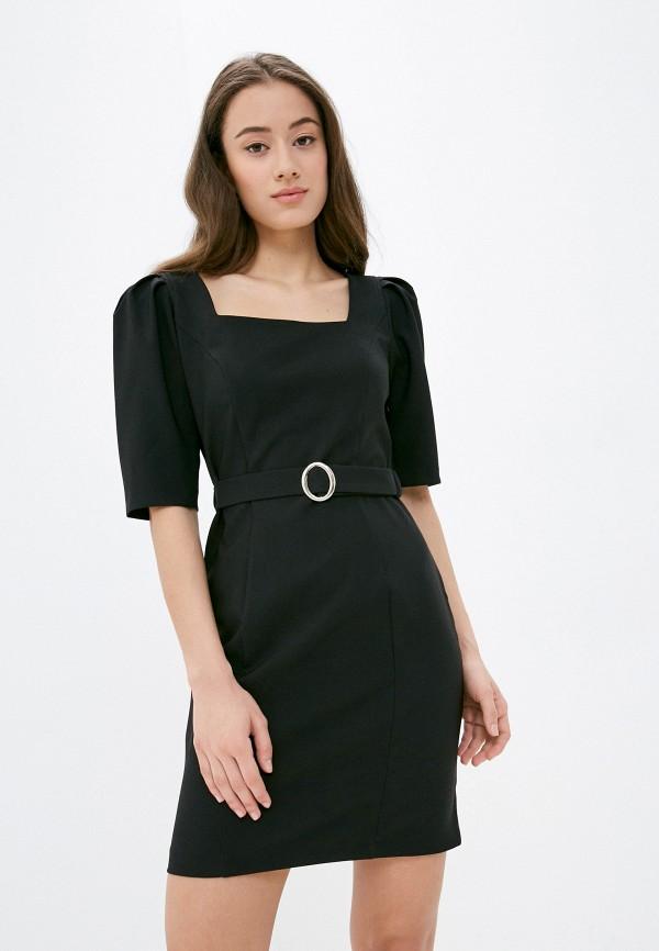 женское платье-футляр vittoria vicci, черное