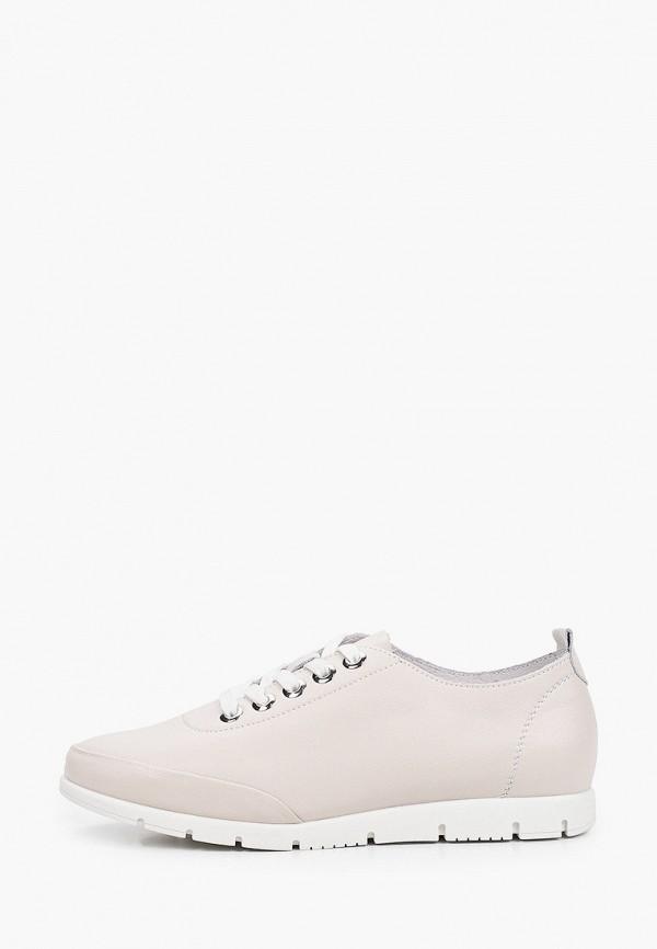 женские низкие ботинки thomas munz, бежевые