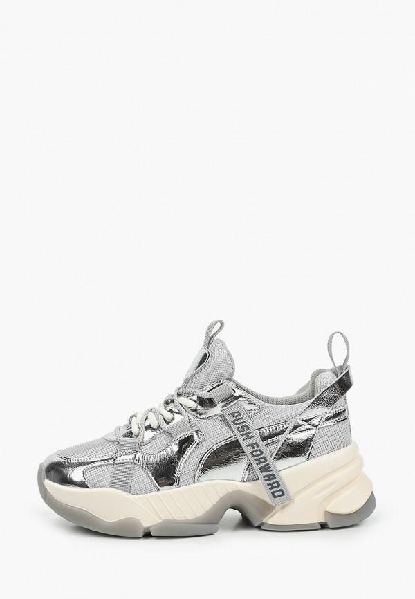 женские низкие кроссовки o2 live, серебряные
