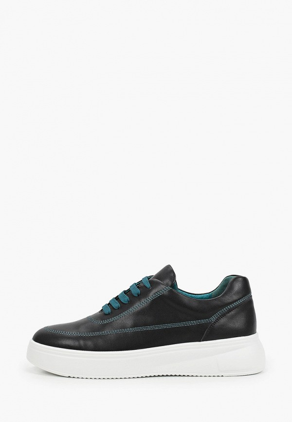 женские низкие кроссовки thomas munz, черные