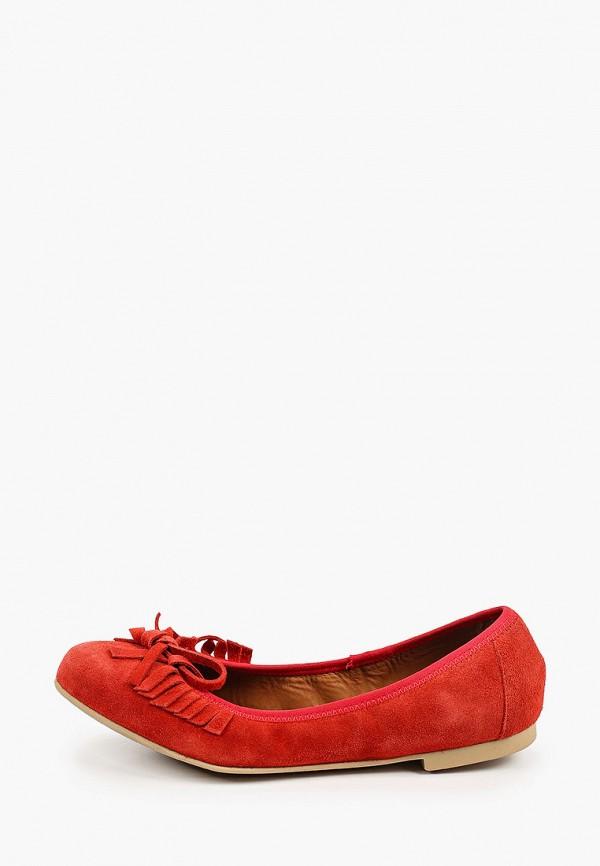 женские балетки ralf ringer, красные