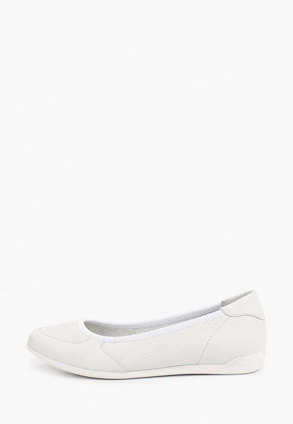 женские балетки ralf ringer, белые