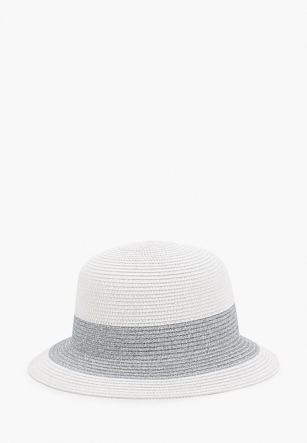 женская шляпа vntg vintage+, серебряная