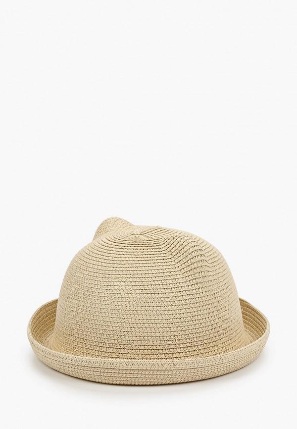 женская шляпа vntg vintage+, бежевая