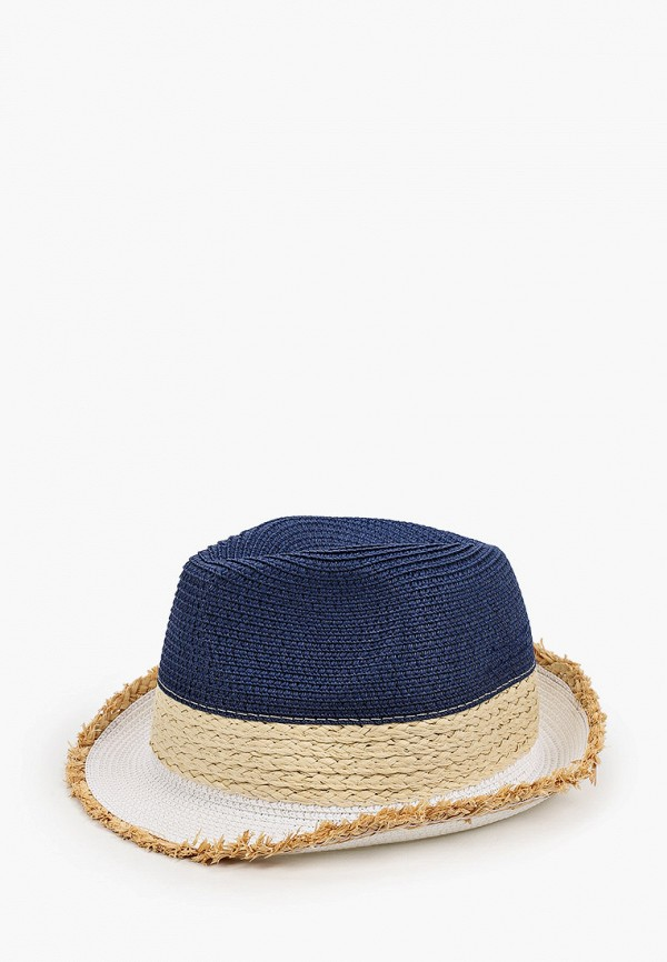 женская шляпа vntg vintage+, синяя