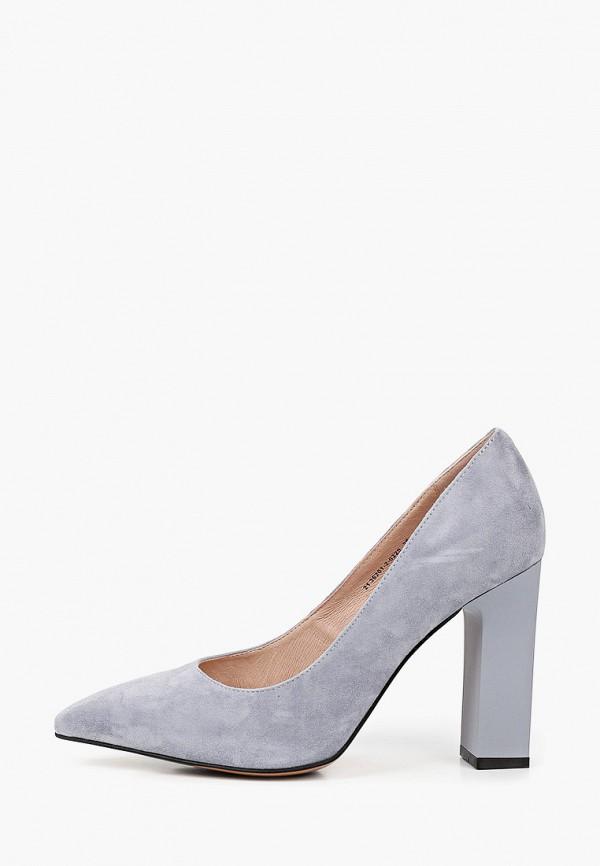 женские туфли с закрытым носом valley, голубые