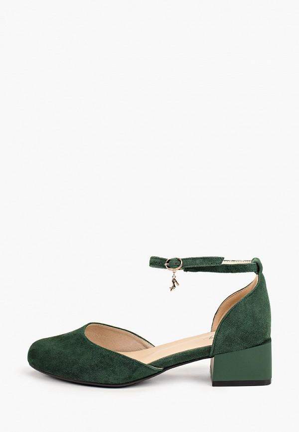 женские туфли valley, зеленые
