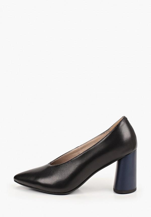 женские туфли с закрытым носом valley, черные