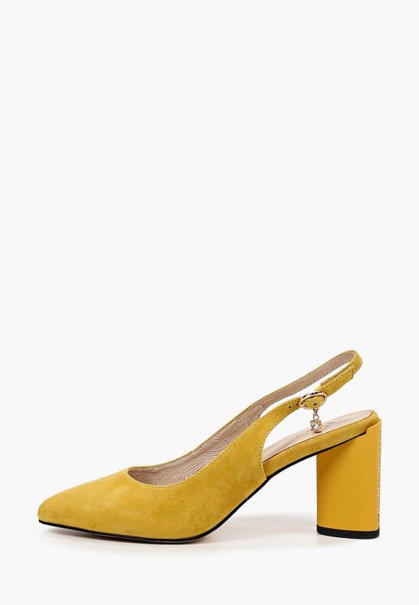 женские туфли valley, желтые