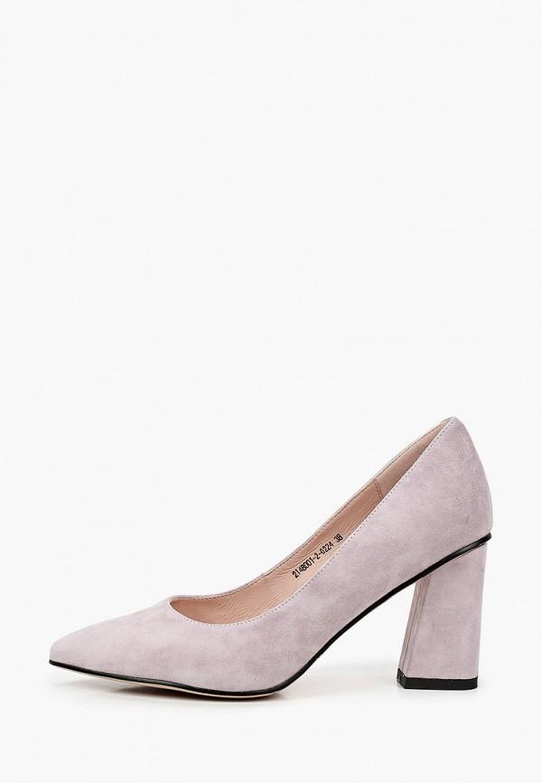женские туфли с закрытым носом valley, фиолетовые