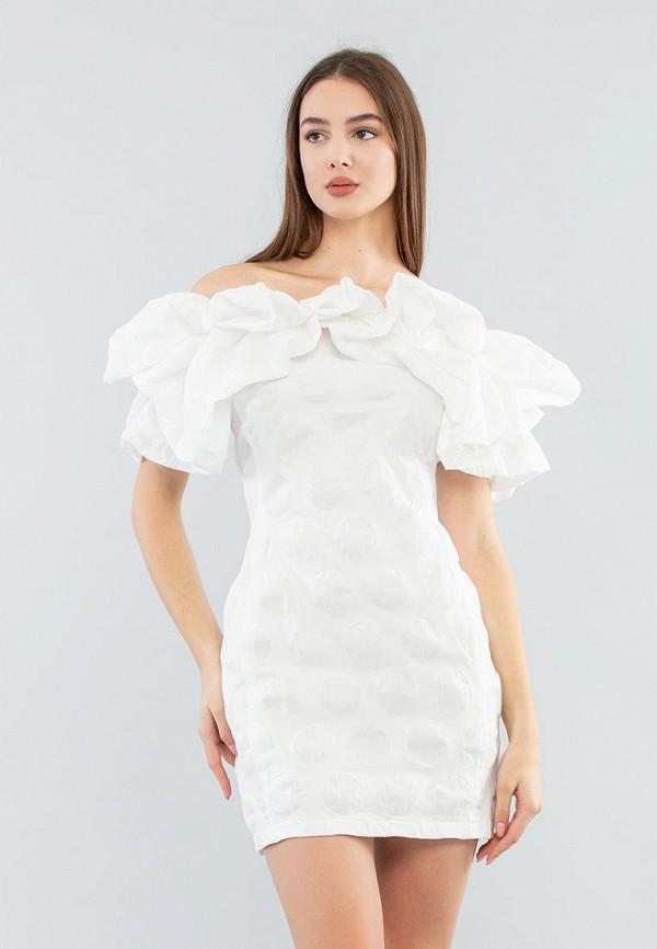женское платье maxa, белое