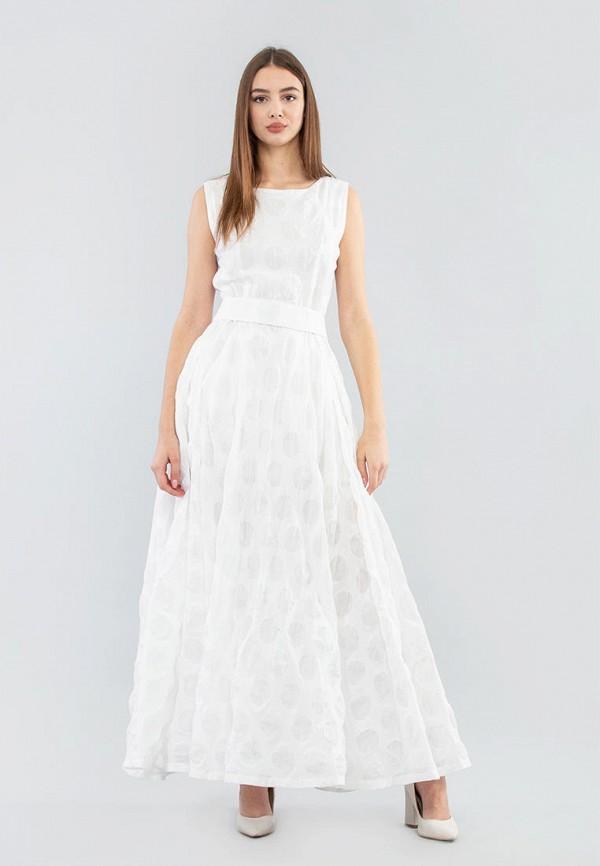 женское вечерние платье maxa, белое