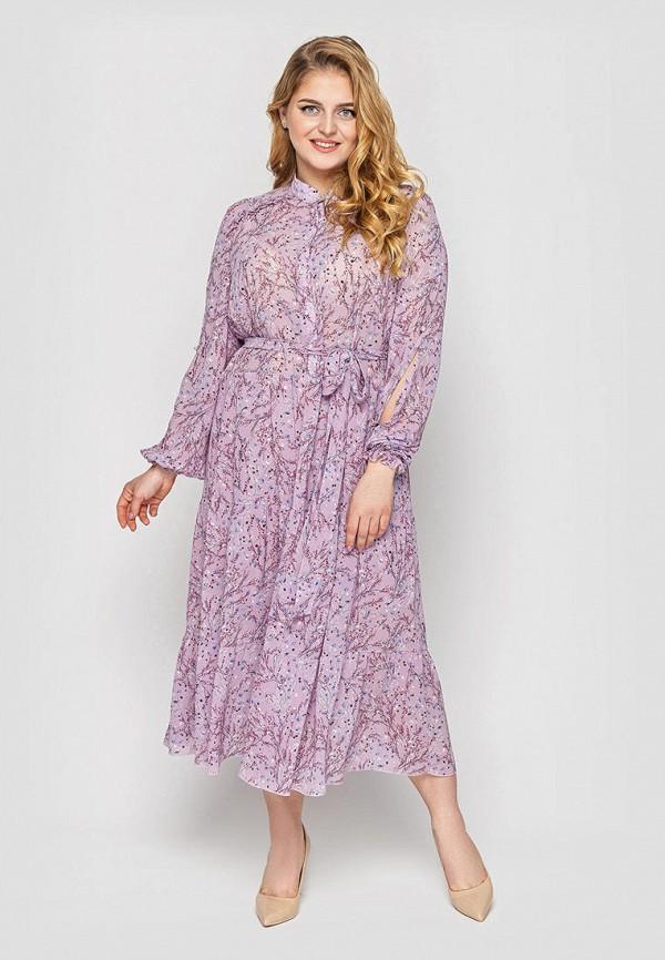 женское повседневные платье vlavi, фиолетовое