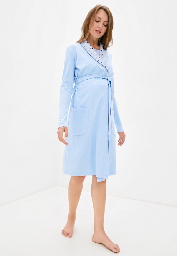 женская домашняя одежда all mixes, голубая