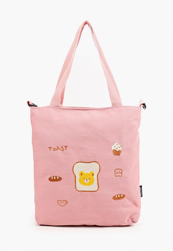 женская сумка-шоперы flioraj, розовая