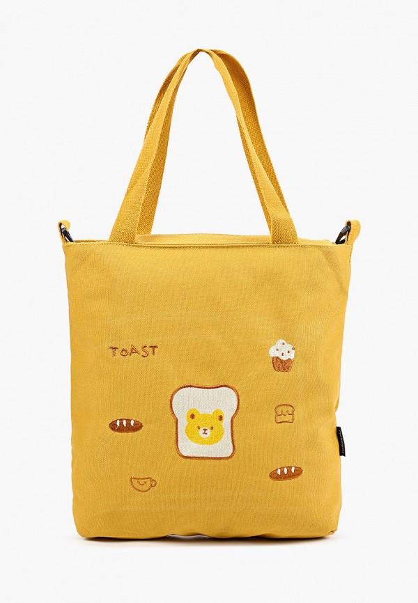 женская сумка-шоперы flioraj, желтая
