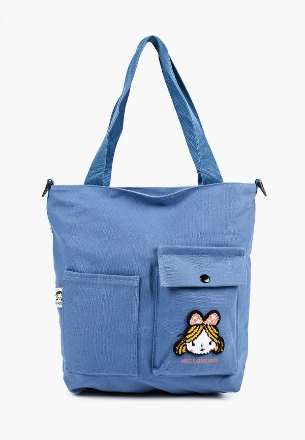 женская сумка с ручками flioraj, синяя