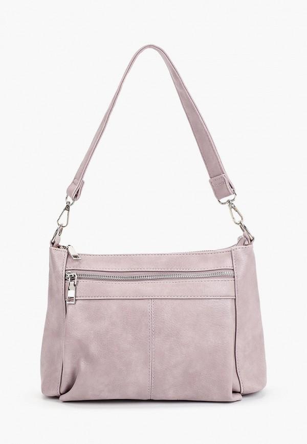 женская сумка с ручками instreet, фиолетовая