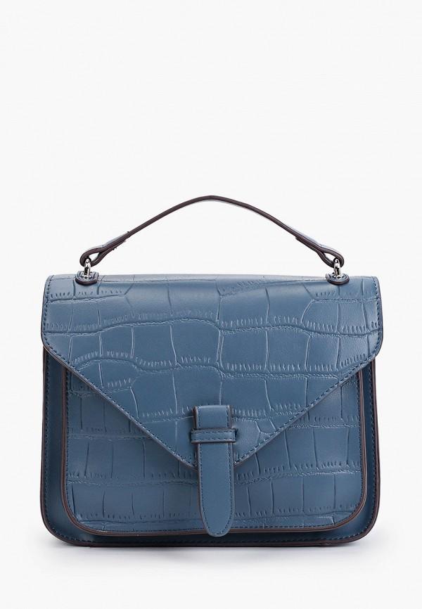 женская сумка с ручками zenden, синяя