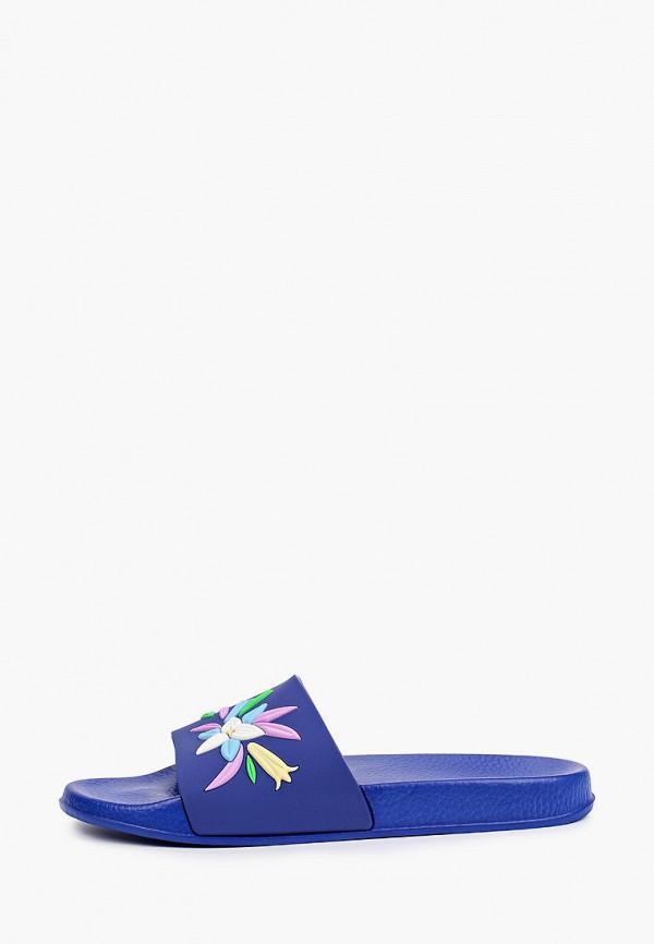 женские сланцы tingo, синие