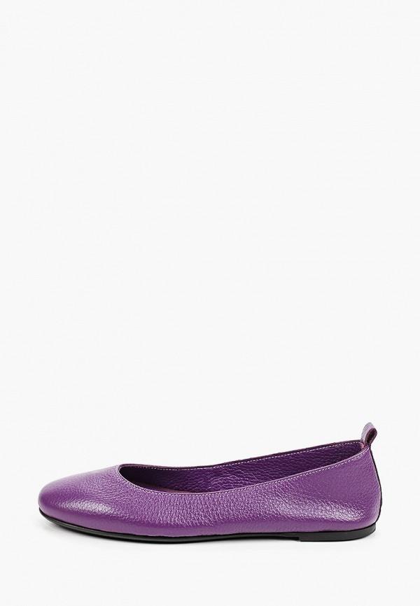 женские балетки marco bonne', фиолетовые