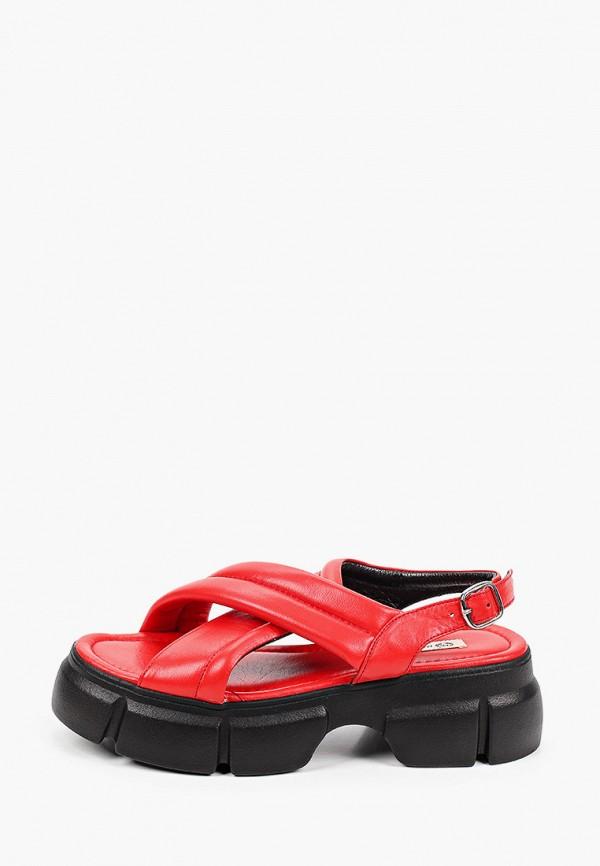 женские босоножки marco bonne', красные