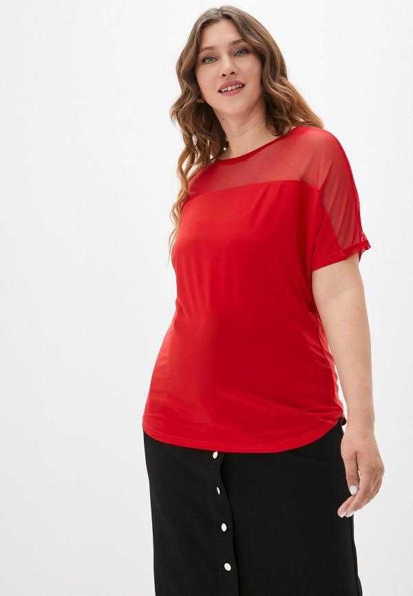 женская футболка sparada, красная
