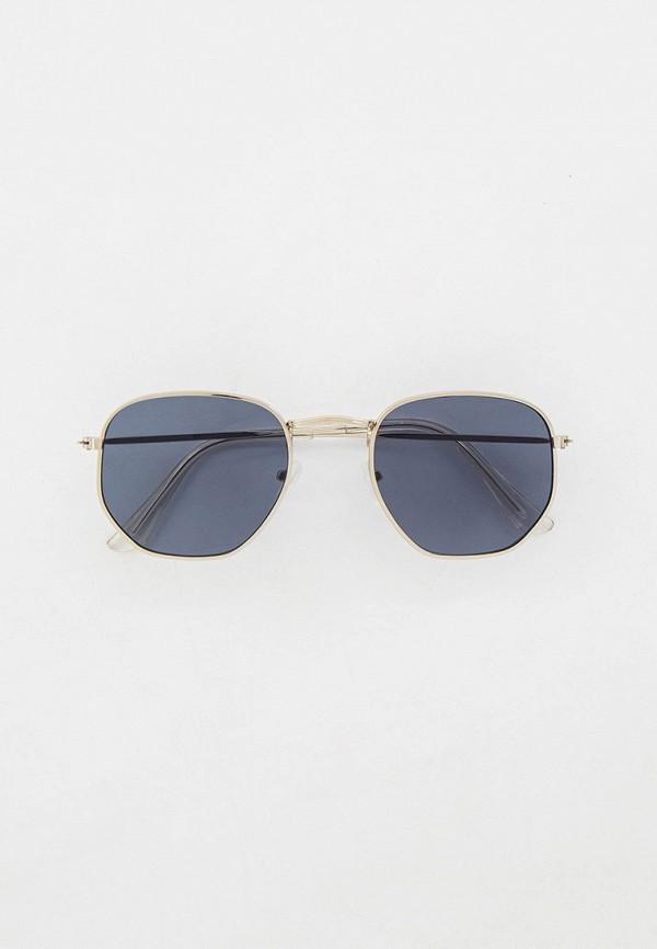 женские квадратные солнцезащитные очки concept club, серебряные