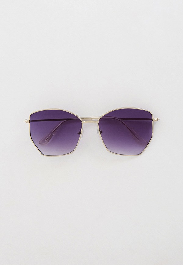 женские солнцезащитные очки concept club, серебряные