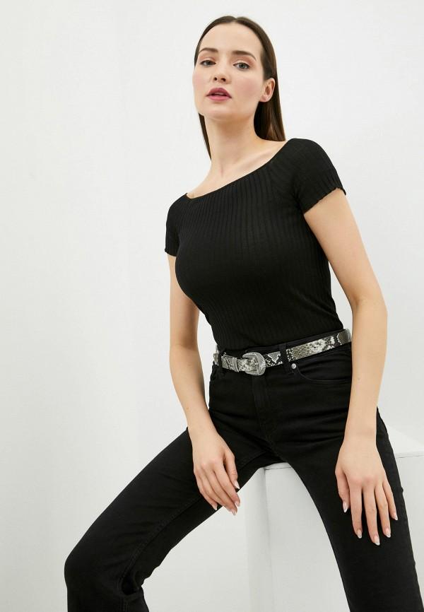 женская футболка intimissimi, черная