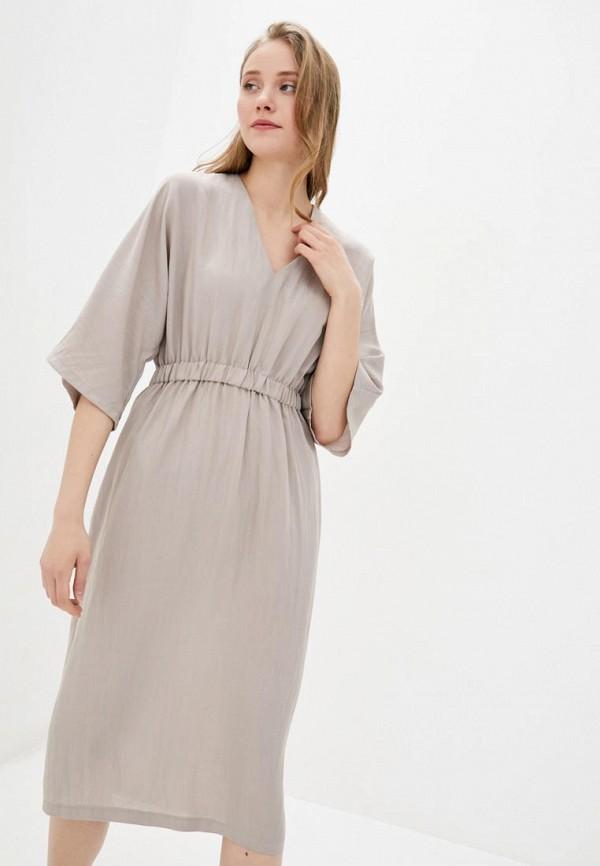 женское повседневные платье sfn, бежевое