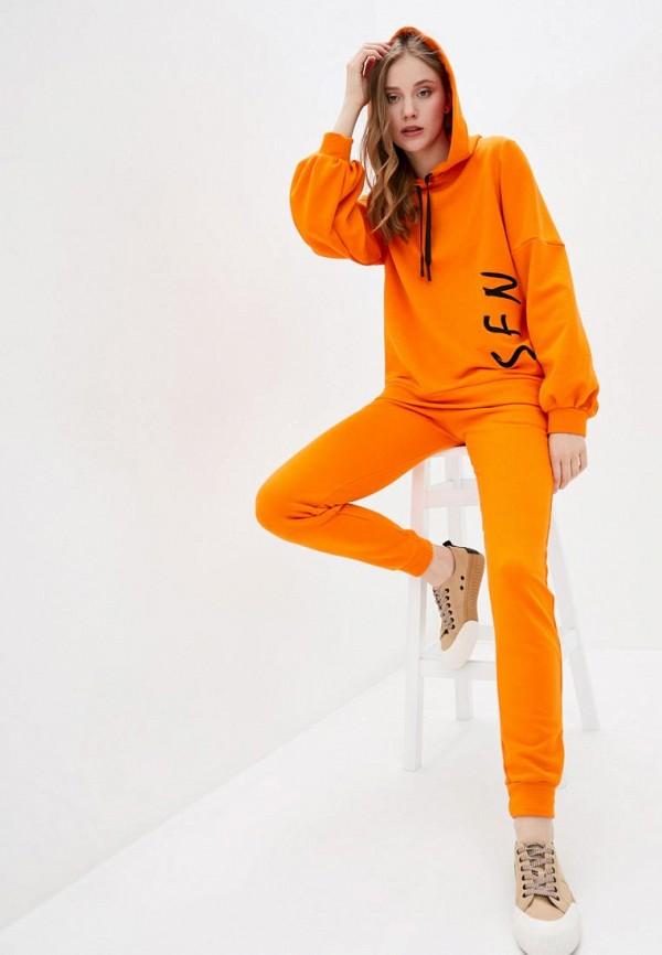 женский спортивный костюм sfn, оранжевый