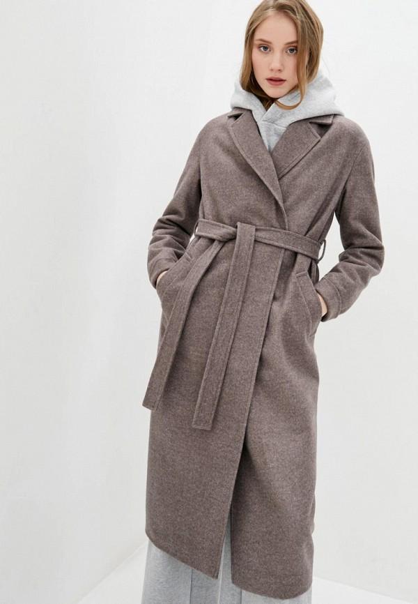 женское пальто sfn, коричневое