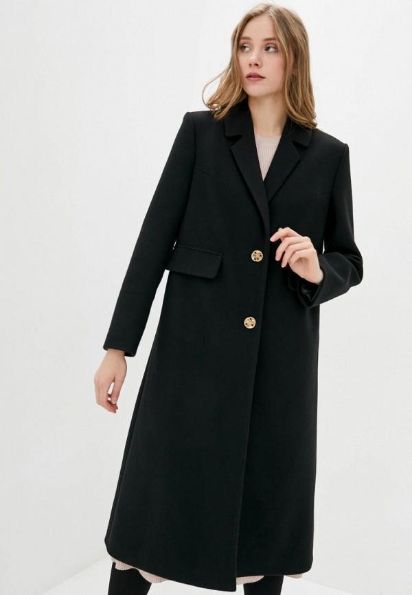 женское пальто sfn, черное