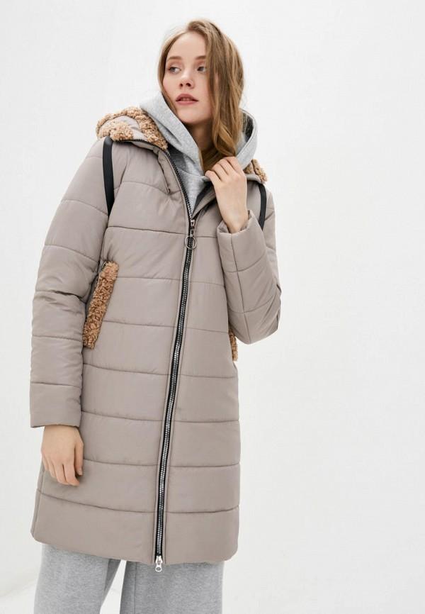 женская куртка sfn, бежевая