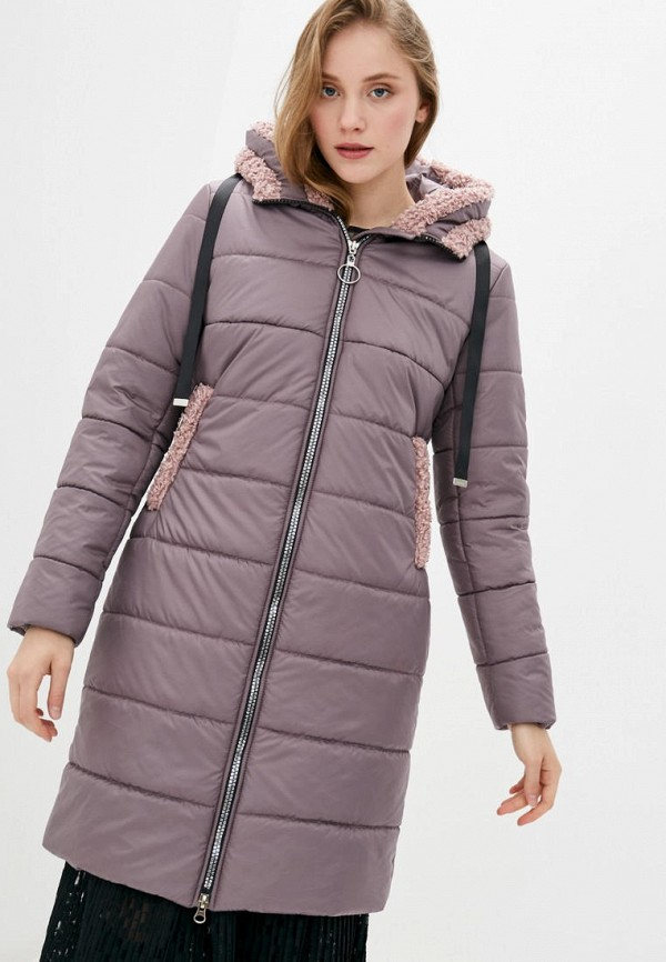 женская куртка sfn, фиолетовая