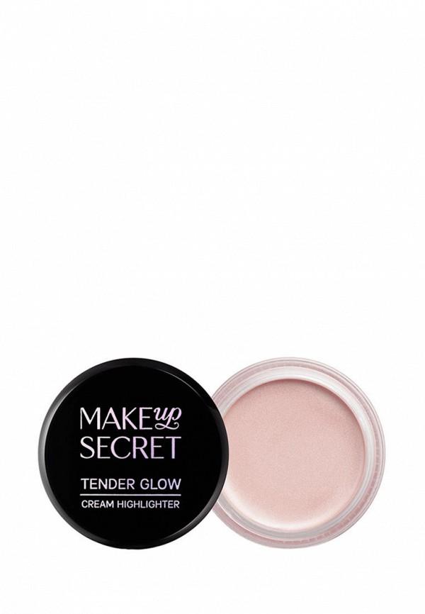 женский хайлайтер make-up secret, розовый