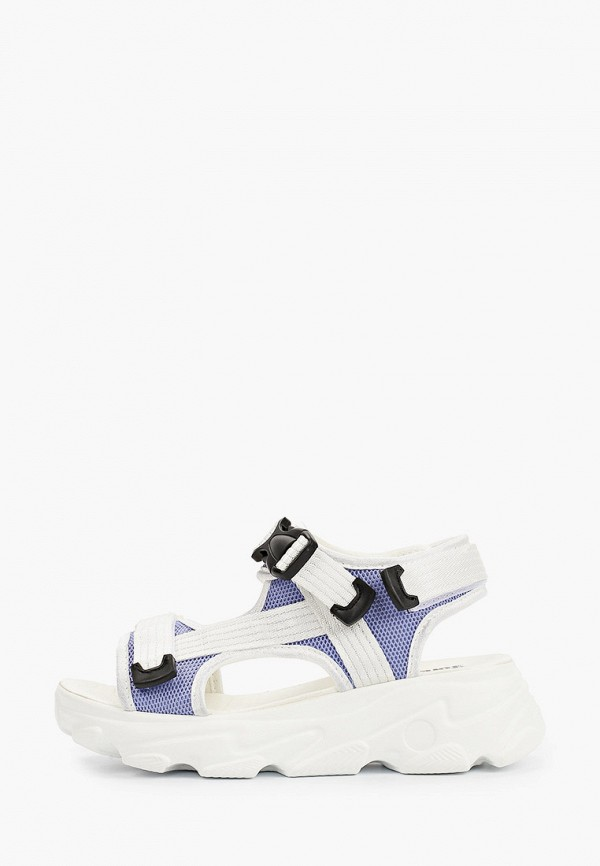 женские сандалии glamforever, голубые