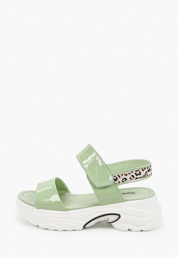 женские босоножки glamforever, зеленые