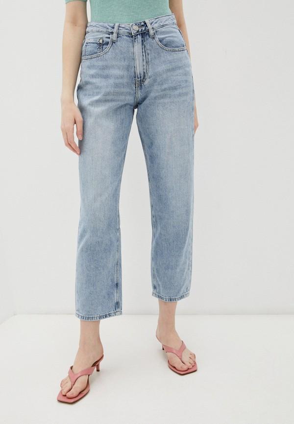 женские джинсы-мом baon, голубые