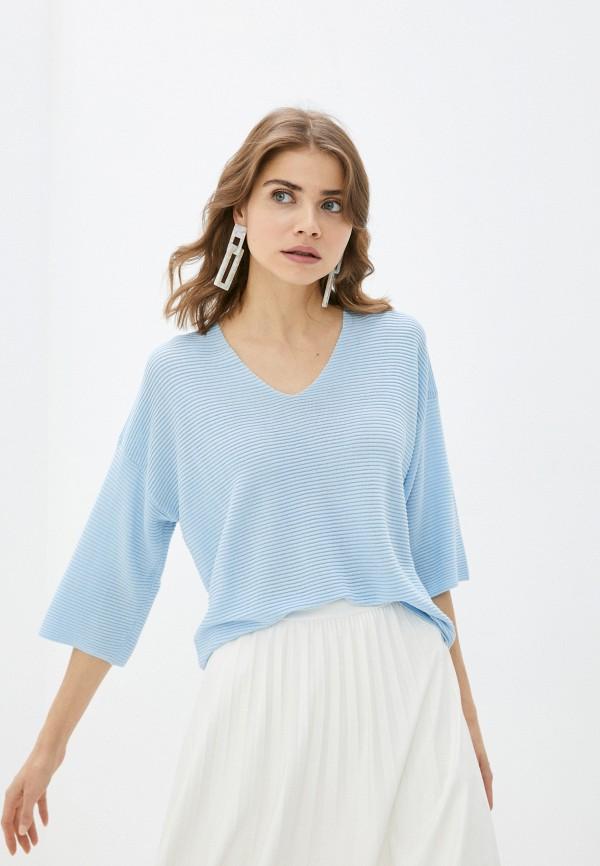 Пуловер Baon голубого цвета