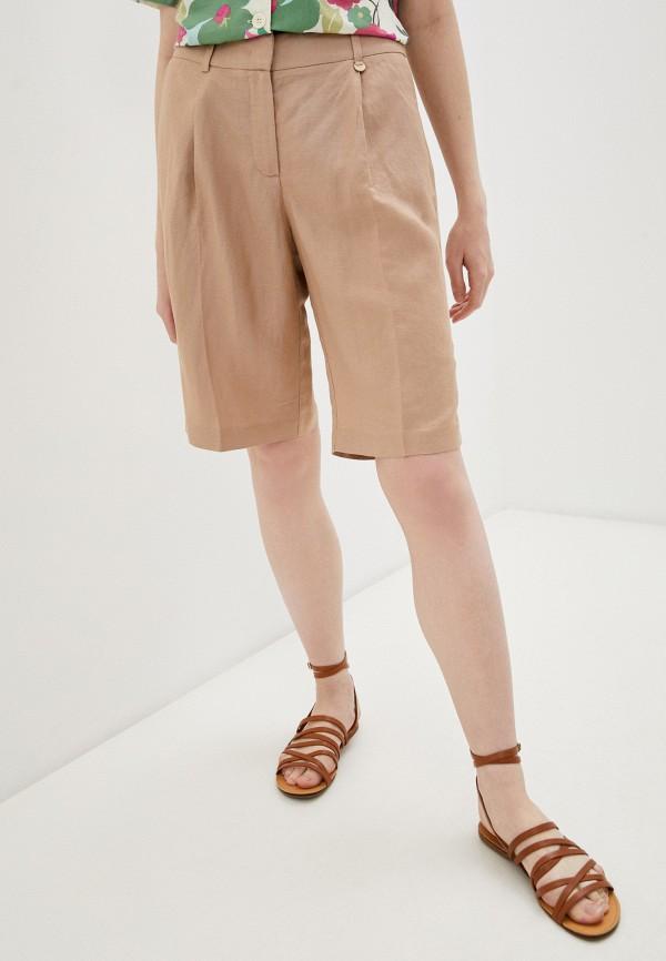 женские повседневные шорты baon, бежевые