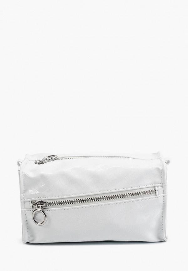 женская сумка через плечо befree, белая