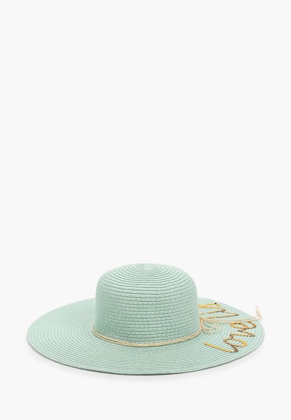 женская шляпа mon mua, бирюзовая